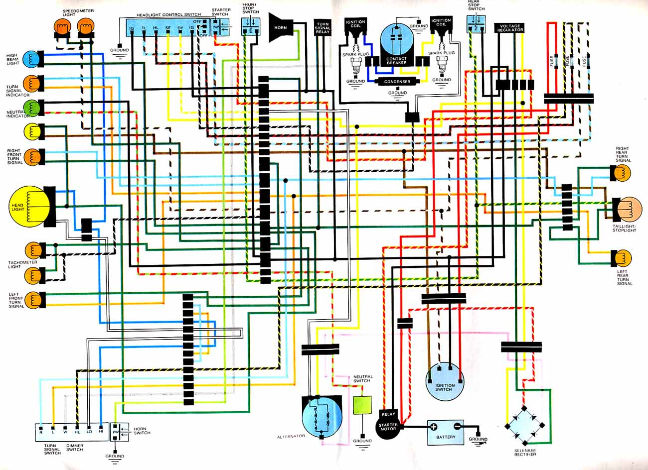wiring diagrams cb360 jpg