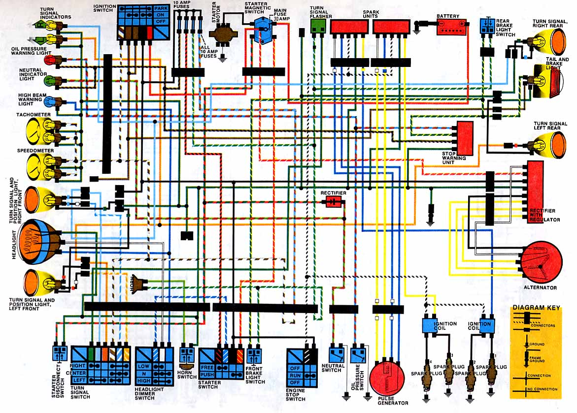 CB650_79_ wiring diagrams