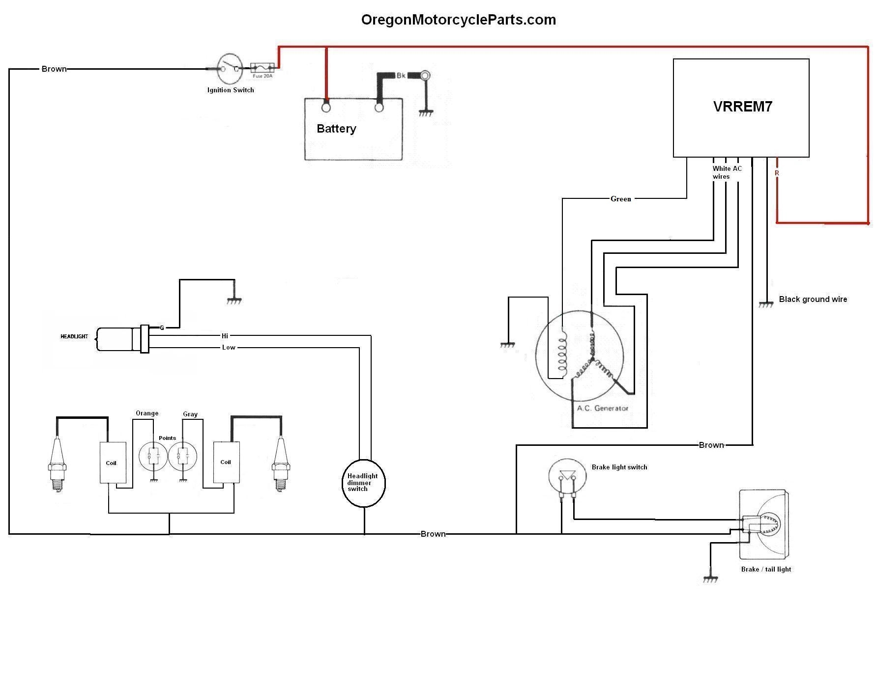 Simple_Yamaha_VRREM72 wiring diagrams rd 250 wiring diagram at bayanpartner.co